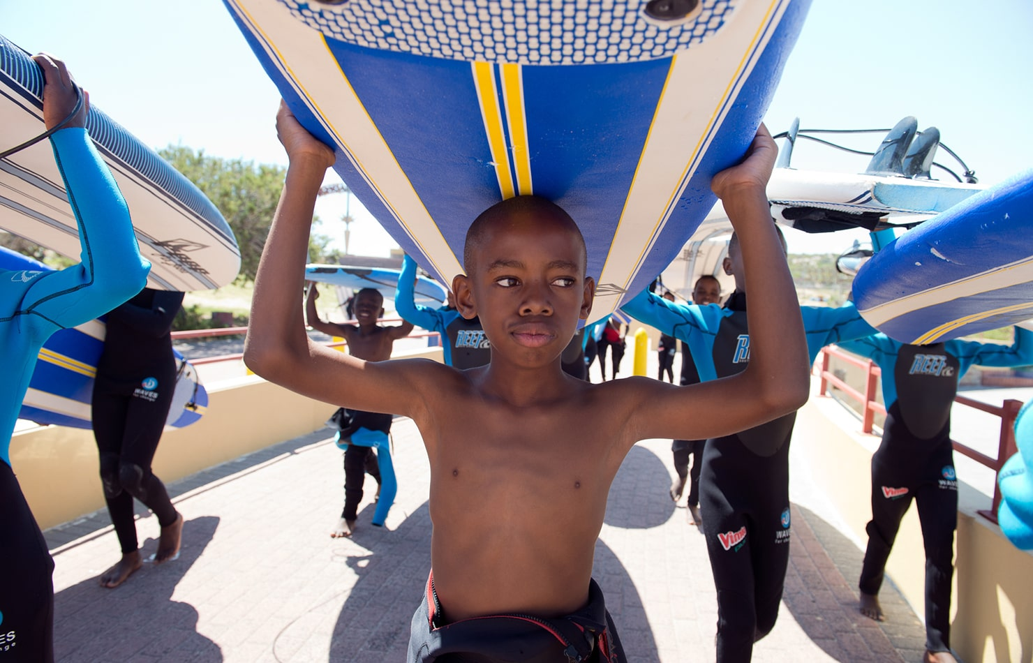 Surf στη Nότια Αφρική ενάντια στη βία