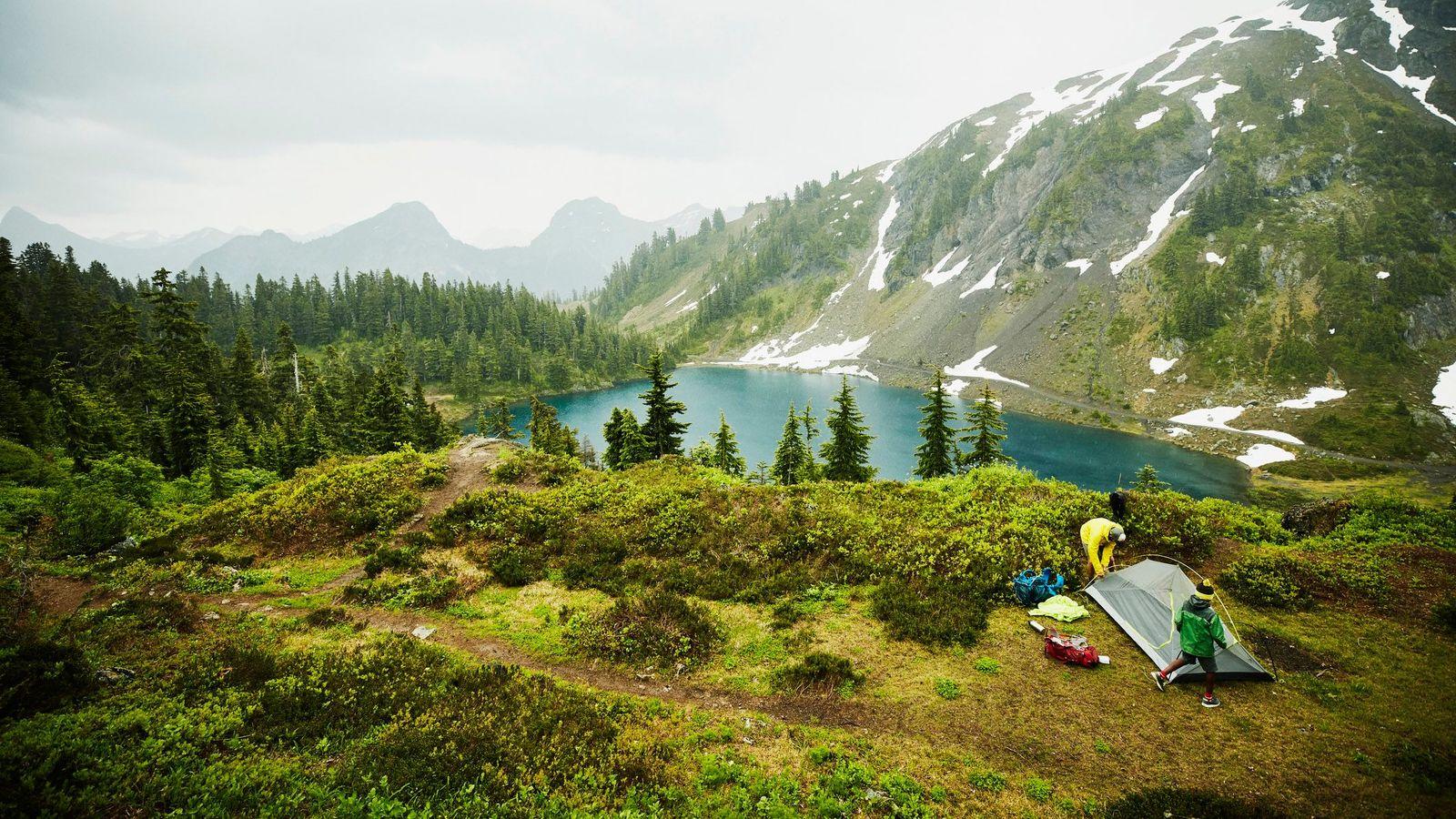 Camping στη φύση