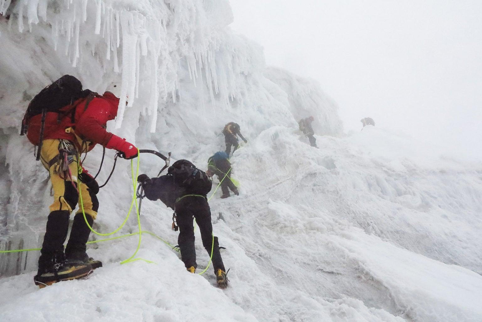 Παγετώνας Margherita στα όρη Ρουενζόρι