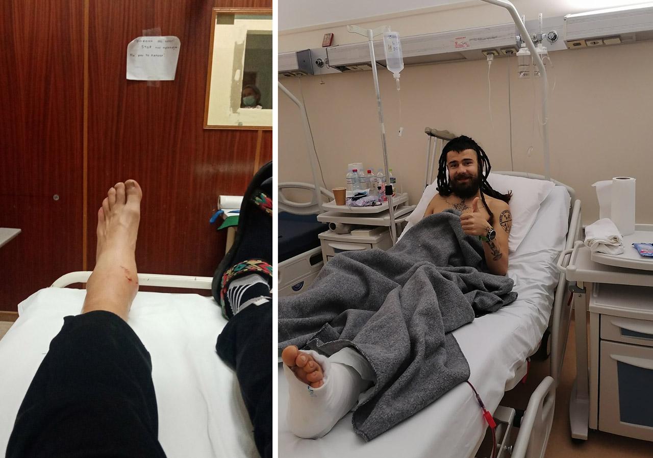 Στο νοσοκομείο πριν και μετά το χειρουργείο