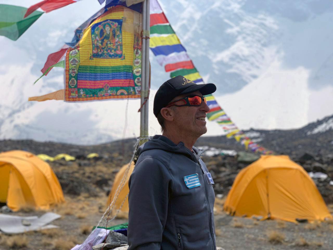 Αντώνης Συκάρης Annapurna Expedition