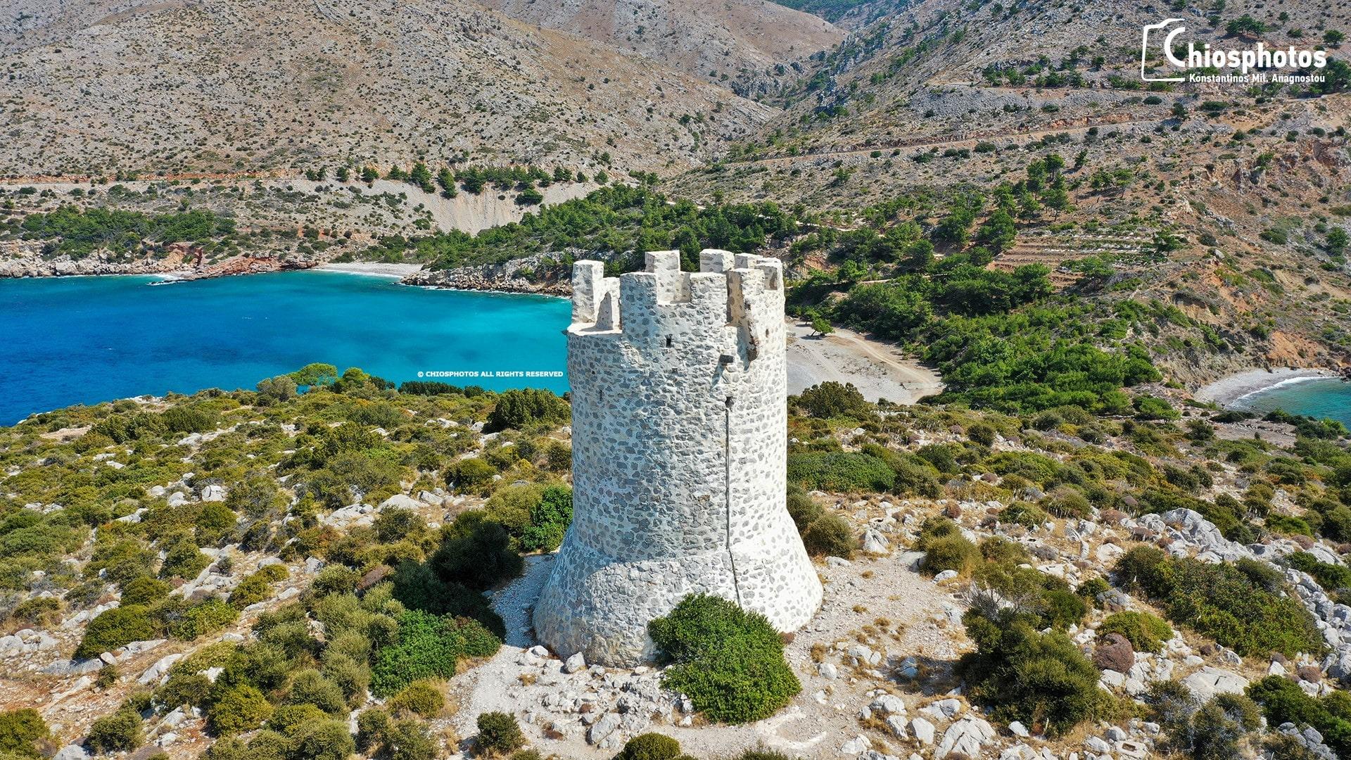 Οι μεσαιωνικοί πύργοι της Χίου που προστάτευαν το νησί από τους πειρατές