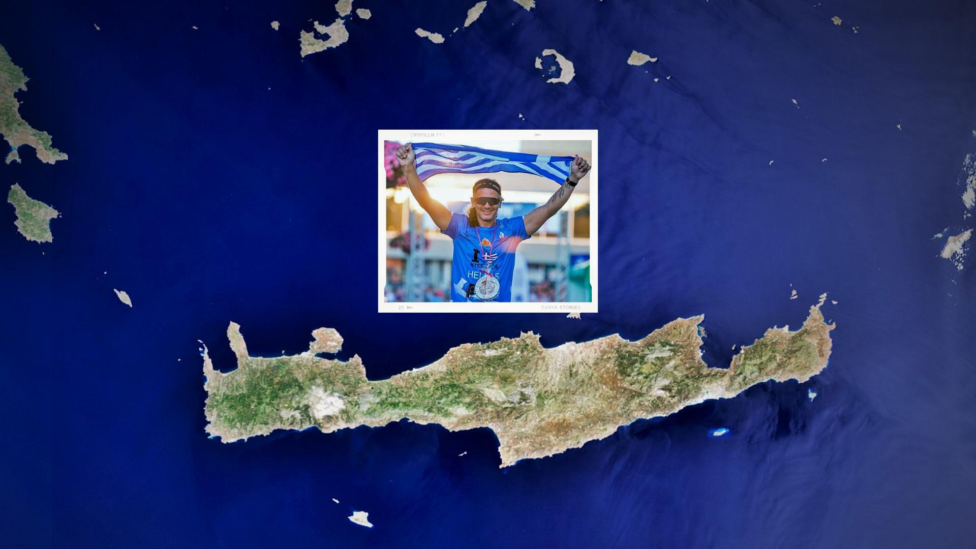 Κώστας Βαρουχάκης: Ο άνθρωπος που θα διασχίσει την Κρήτη για τα παιδιά με αναπηρία